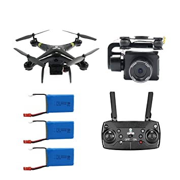 Lorenlli Para GW168 RC Drone GPS Drones WiFi FPV Drone con cámara ...