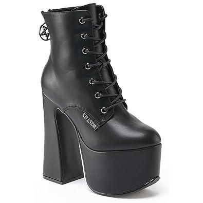 Killstar, Bottes pour Femme - noir - noir,