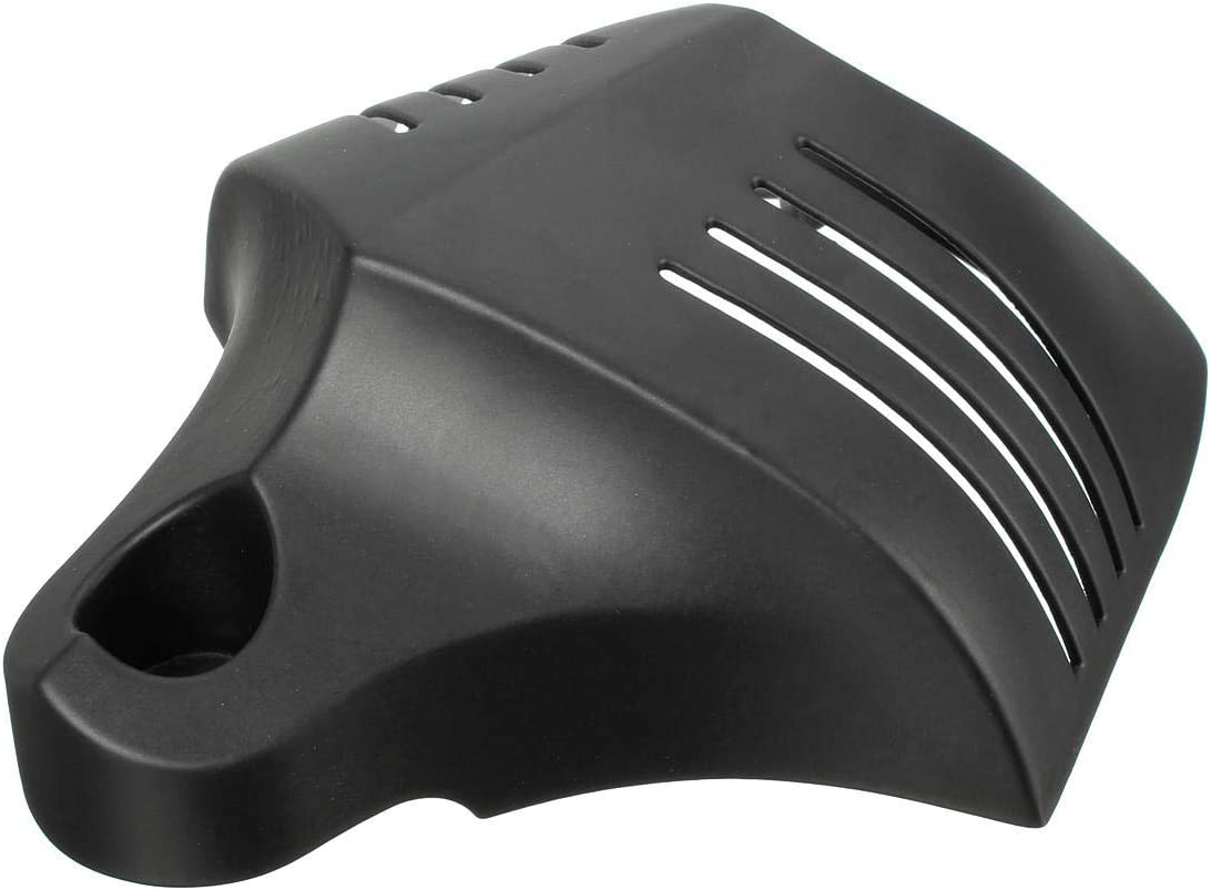 RENCALO Motorcycle Twin Horn Aluminum Cover For 1992-2014 Harley Davidson