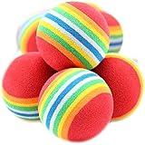 10 x Mignon Jouet Balles Coloréés pour Animaux Pet Chien Chat