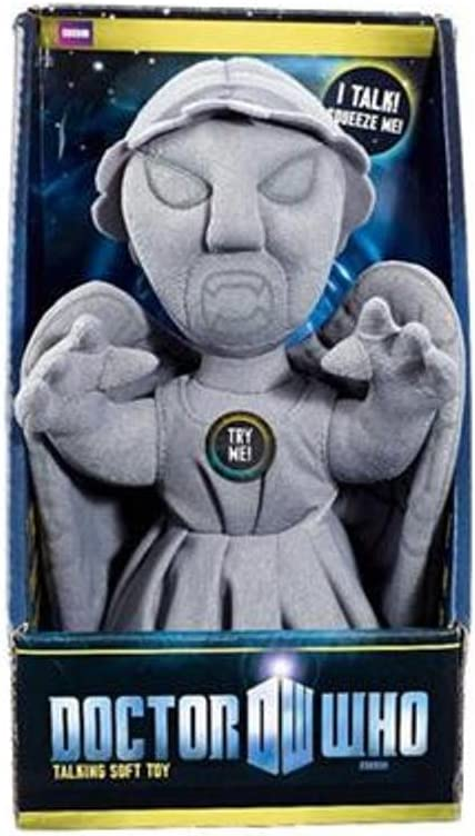 """Doctor Who Electronic Weeping Angel Talking 9"""" Plush"""