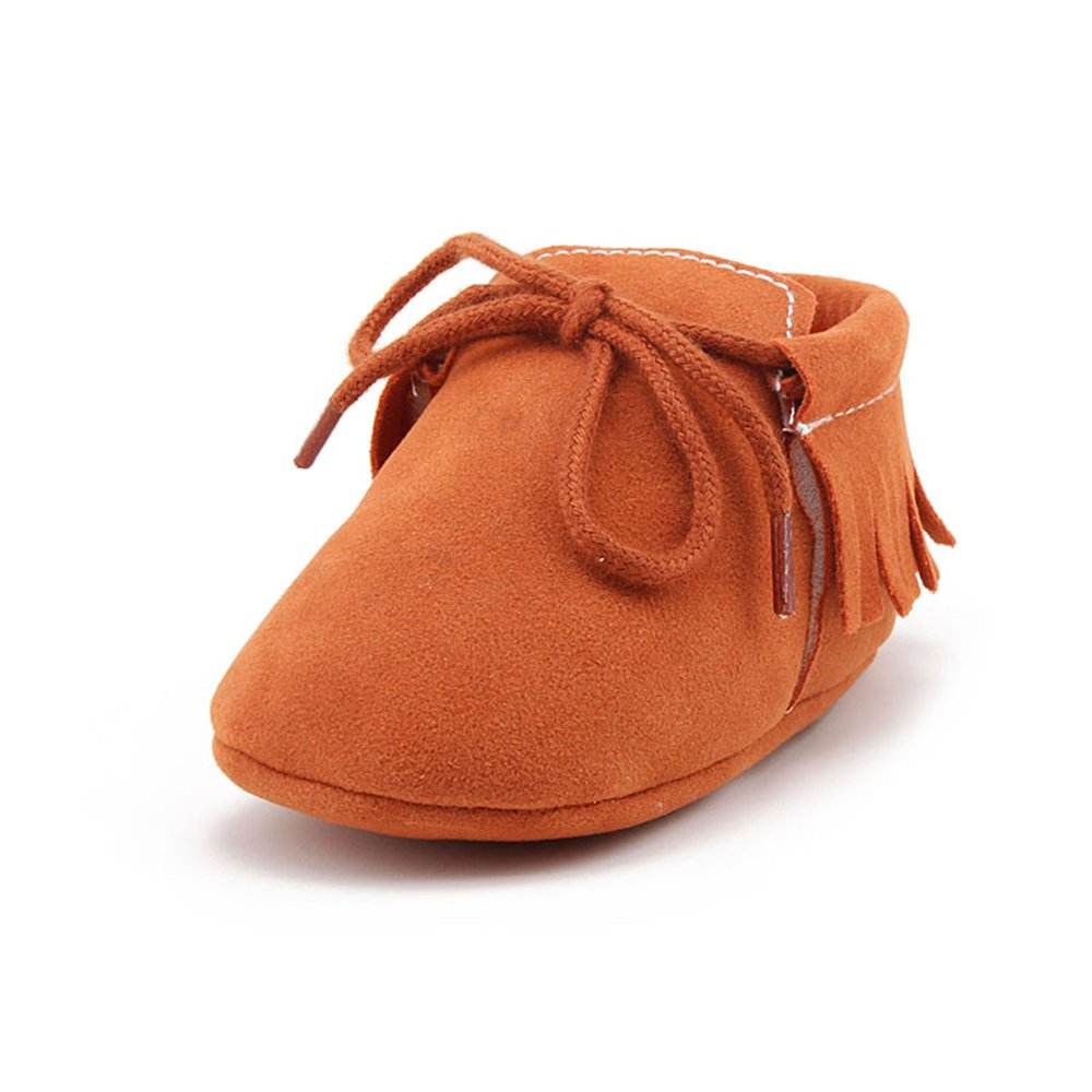 632fdc78cf5 DELEBAO Baby Boys Soft Bottom Lace Up Moccasins Crib Shoes Infant First  Steps Loafers  Amazon.co.uk  Shoes   Bags
