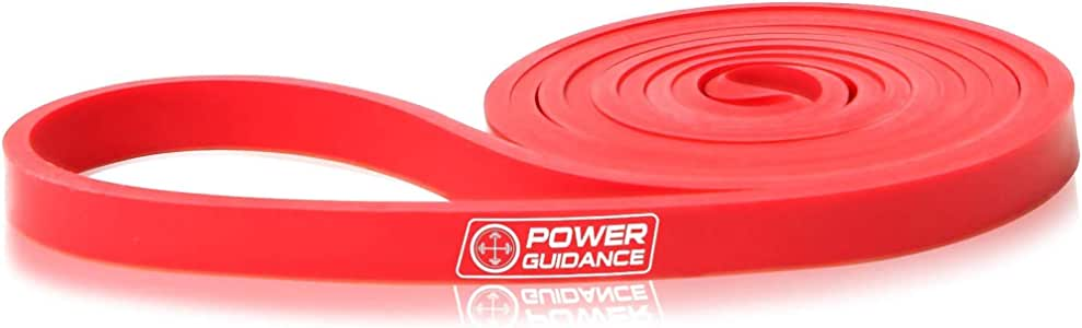POWER GUIDANCE Pull Up Assist Bands - Heavy Duty Resistance Band - Mobility & Powerlifting Bands - Perfect for Body Stretching, Powerlifting, Resistance Training