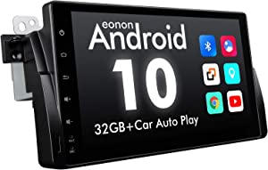 2020 Android Car Stereo Android 10 Car Stereo, Eonon Car Radio Applicable to BMW 3 Series Android Head Unit Support Carplay/Android Auto/WiFi/Fast Boot/Backup Camera-9 Inch-GA9450B