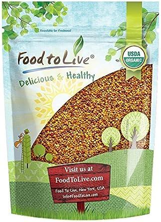 Semillas de Brotes de Trébol Orgánico, 1 Libra - Ideal para brotes, Microgreens, Jardinería, Almacenamiento de alimentos, Sin OGM, Kosher, Amarillo: Amazon.es: Alimentación y bebidas