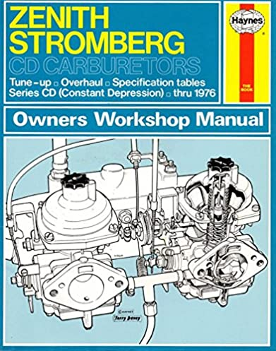 amazon com haynes owners workshop manual zenith stromberg cd rh amazon com su carburettor workshop manual su carb workshop manual pdf