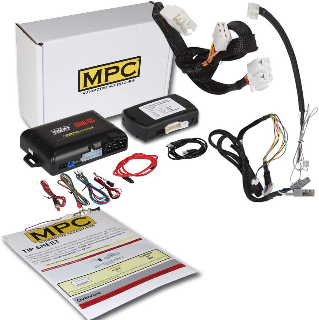 MPC Factory Remote Start kit-Best Remote Start for Honda Fit