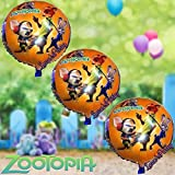 LoonBalloon 3PC Disney ZOOTOPIA 18