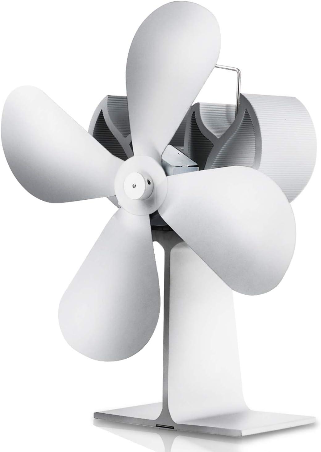 Ventilador De La Estufa De Calefacción Decoracion Chimenea Ventilador De Chimenea De Quemador Ventilador De Circulación De Calor Circula Mejorando La Convección Del Aire Interior