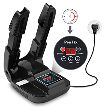 PexFix Secador Eléctrico de Zapatos Secador para Botas Desodorante Inteligente Secador de Zapatos Calentador escalable para