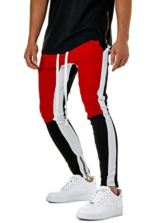 Amazon.com: Warlmarts Jogger Pantalones Pencil Pants Casual ...