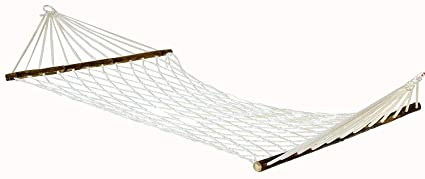NOVICZ Nylon Hammock Swing Hanging Rope Bed for Travel Camping (250 cm)