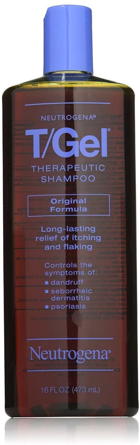 Neutrogena T/Gel Therapeutic Shampoo Original Formula 16 oz ( Packs of 4) by Neutrogena