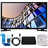 Samsung UN24M4500 23.6'' 720p Smart LED TV (2017 Model) w/ Tuner Bundle Includes, HD Digital TV Tuner, SurgePro 6-Outlet Surge Adapter w/ Night Light, 6ft. HDMI Cable & Screen Cleaner For LED TVs