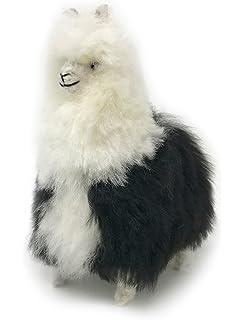 Amazon Com Standing Alpaca Fur Alpaca Adult Figure White 12 Inch
