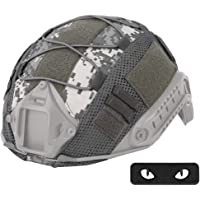 WTZWY Tactical Military Combat Helmet Cover con Cat