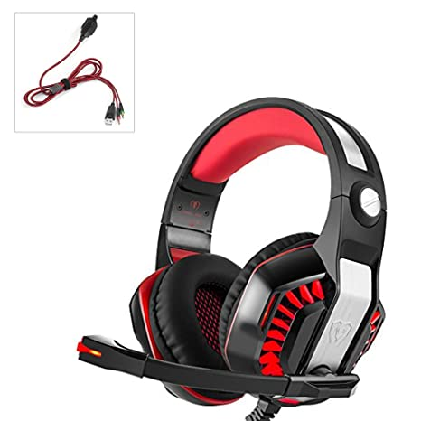 Gaming Headset, Bigaint Stereo Headphones for PS4, PC Xbox