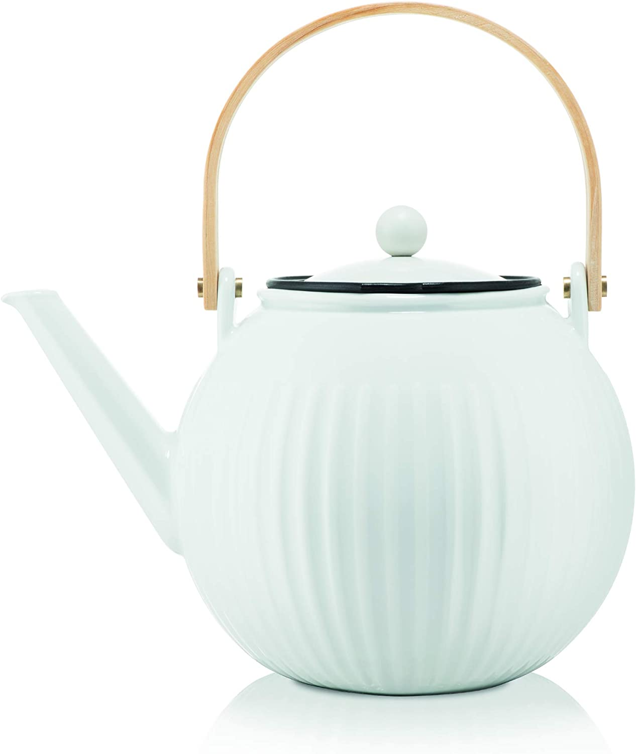 Bodum Douro Porcelain Teapot with Stainless Steel Filter 1.5 Litres