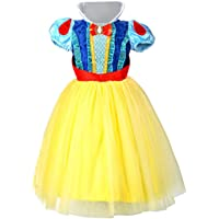 LOEL Snow White Princess Dress Up Coustume Party Girl Dress