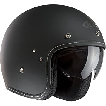 F7MBM - HJC FG-70s Open Face Motorcycle Helmet M Black (MC5F)