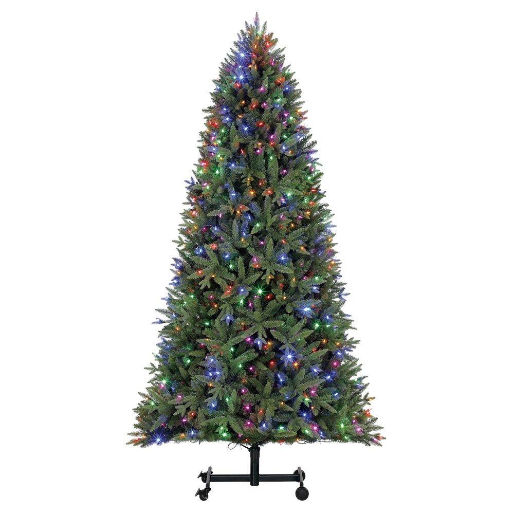 Home Heritage Alaska 7' - 9' Grow & Stow Dual Colored Light Christmas Tree by Home Heritage (Image #2)