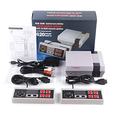 620 Games in 1 Classic Retro TV Gamepads Mini Game Console with 2 Controllers Consoles by…: Electronics
