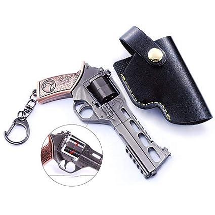 Amazon.com: Games Prop 1/6 Metal R45 Pistola Armas Militar ...