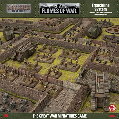 Trenchline System - Fully Painted - Figure - Flames of War