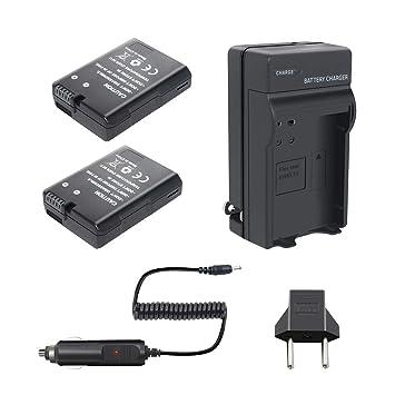 bonadget 2 Pack Batería de alimentación y cargador para ...