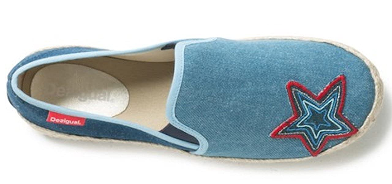 Desigual Denim Schuhe - Schuhes_Taormina Denim Desigual Patch 18SSKD05-2018 - 96e9a1