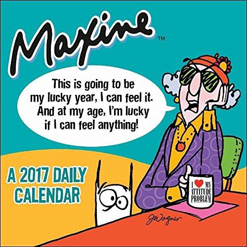Free TF Publishing Maxine 2017 Daily Desk Boxed Calendar
