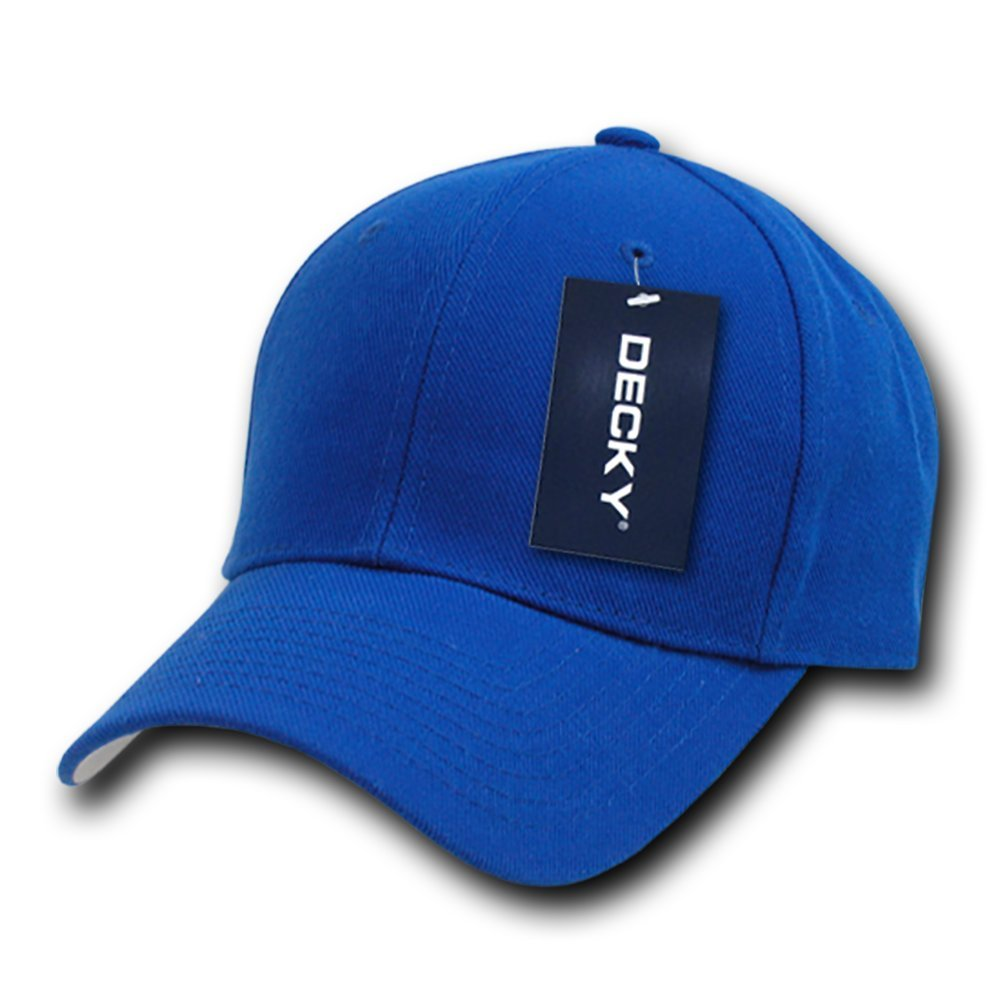 DECKY Fitted Cap, Royal, 7 1/8 by DECKY