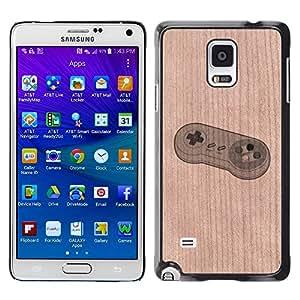 - / Snail Funny Nature Bug - - Funda Delgada Cubierta Case Cover de Madera / FOR Samsung Galaxy Note 4 SM-N910 N910 / Jordan Colourful Shop/