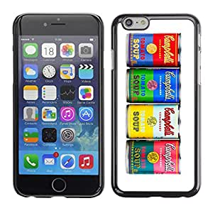 CaseCaptain Carcasa Funda Case - Apple Iphone 6 PLUS 5.5 / Retro Soup Collection /