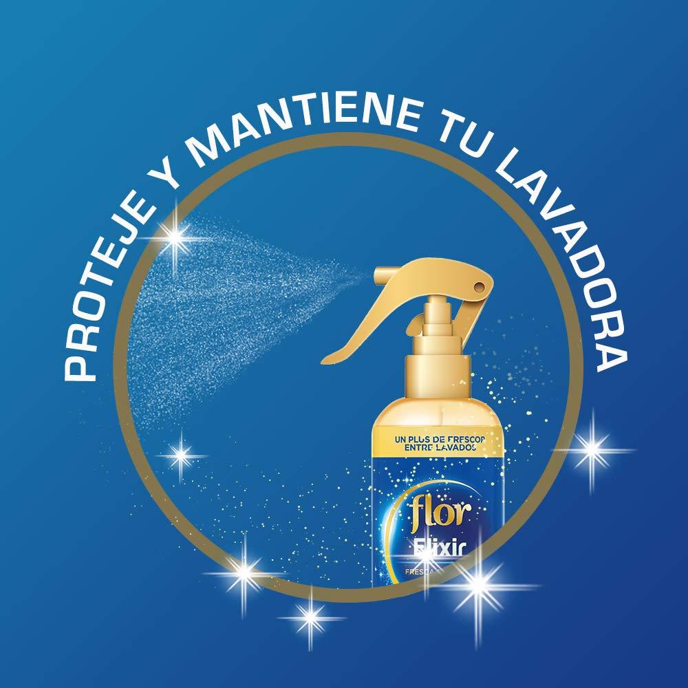 Flor - Instant Azul - Perfumador para la ropa - 345 ml - Lot de 4 ...