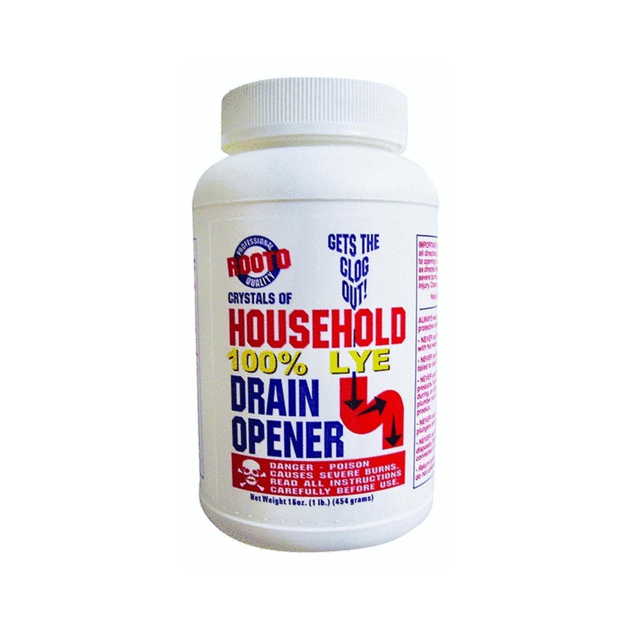 1 Lb. Drain Cleaner With Lye   Bathroom Sink And Tub Drain Strainers    Amazon.com