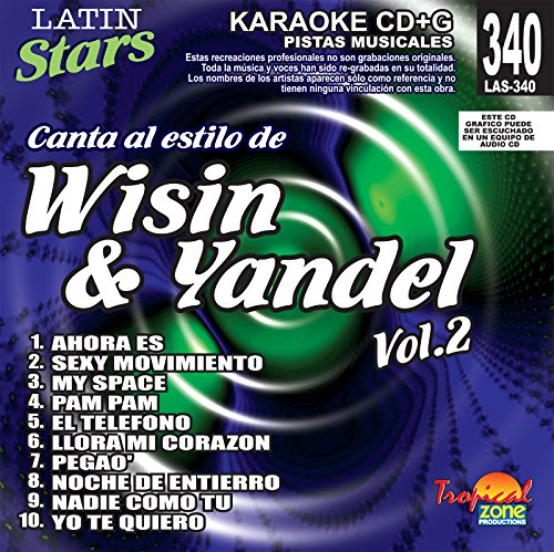 Karaoke: Wisin & Yandel 2 - Latin Stars Karaoke by Wisin Y Yandel