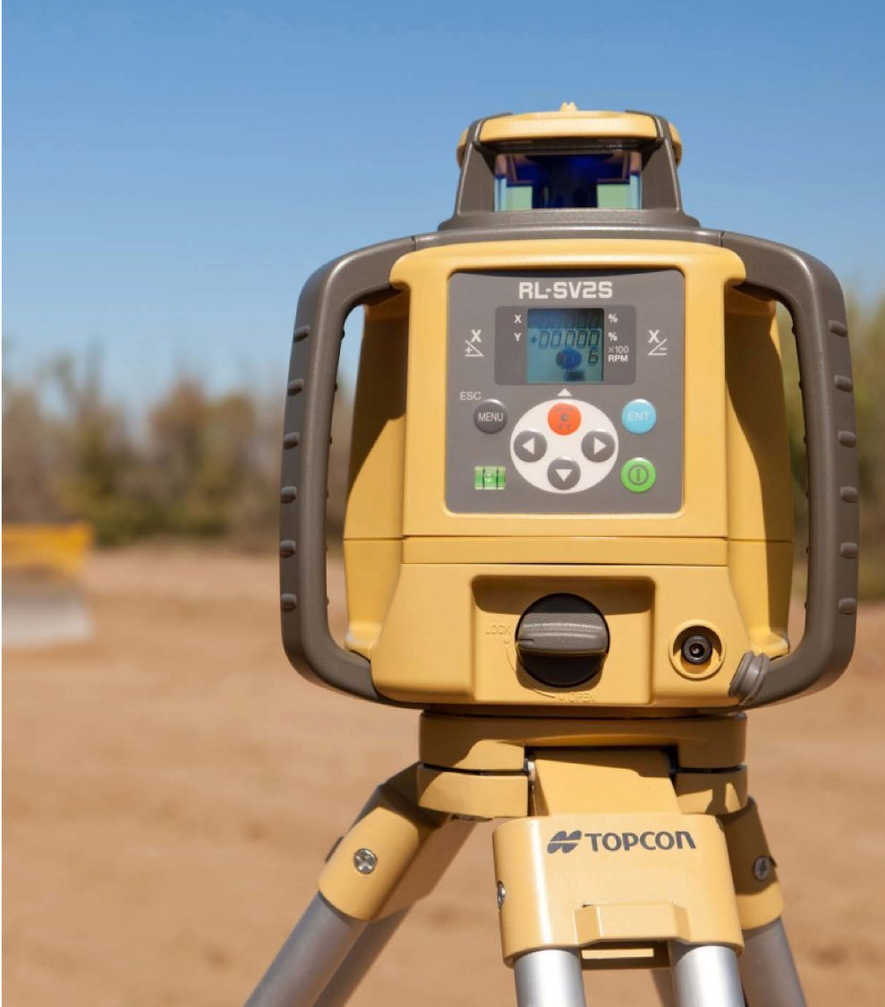 Topcon RL-SV2S Dual Grade Rotary Laser with BONUS EDEN Field Book | IP66 Rating Drop, Dust, Water Resistant | 800m Construction Laser | Includes LS-80L Receiver, Detector Holder, Hard Case by TOPCON (Image #4)