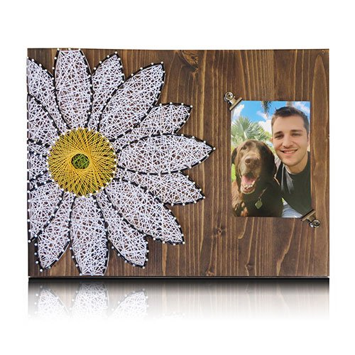 Amazon Com Daisy String Art Kit String Art Picture Frame Daisy