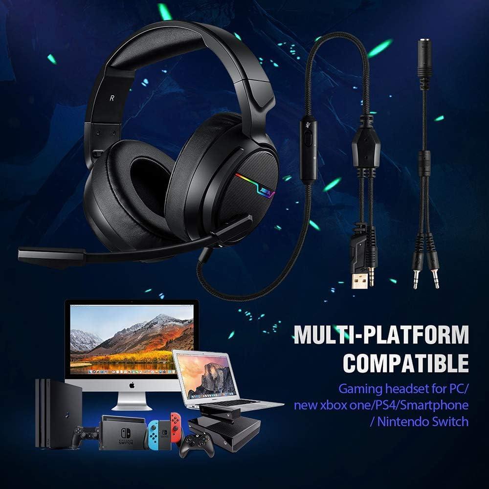 TechSide Supporto per Cuffia con Microfono Gaming