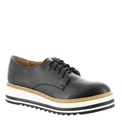 416282b6589a6 Amazon.com | Steve Madden Womens Vassar Leather Pointed Toe Oxfords |  Fashion Sneakers