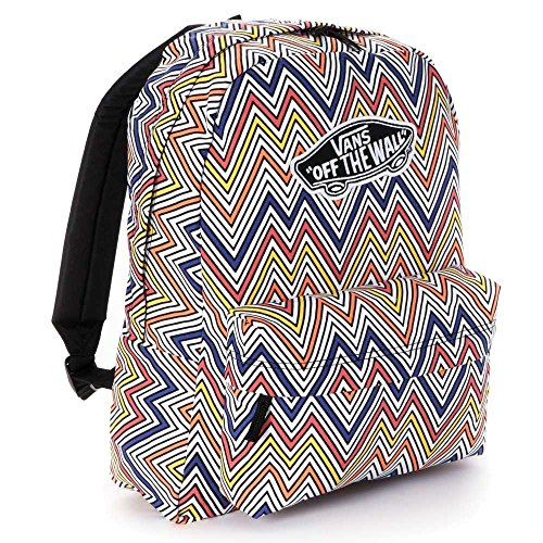 New VANS REALM BACKPACK Book Bag 572453-CMW (VN-0NZ0H7W) MULTI