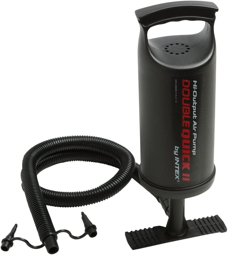 Intex 68614 - Hinchador de mano doble velocidad - 36 cm