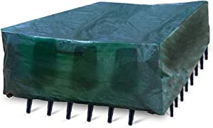 Quality Choices - Patio Furniture Cover (135''X70''X29'', Green)