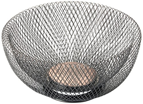 NIFTY 7530ORB Double Wall Mesh Decorative and Fruit Bowl, 3.5 quart/10, Bronze by NIFTY