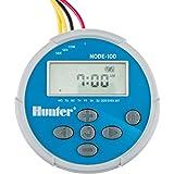 HUNTER Sprinkler NODE100 NODE-100 Battery Operated Irrigation Controller, Small, Blue