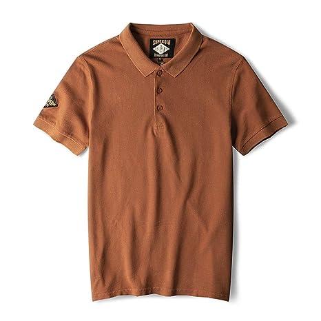 Belingeya-cl Camiseta de Hombre Camisa Polo de Color sólido for ...