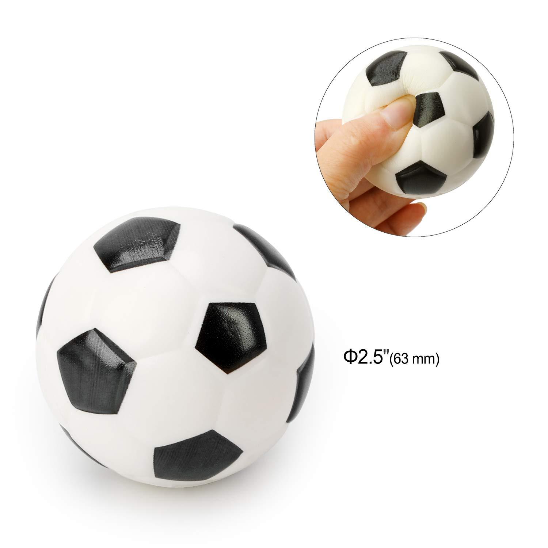 Howaf Artículos de Fiesta fútbol Cumpleaños Niños, 31 Piezas fútbol silbatos fútbol Llavero bolígrafos de gel balones fútbol Tatuajes Temporales para ...