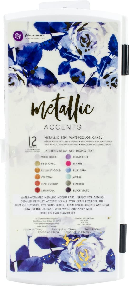Prima Marketing 589974 Metallic Accents