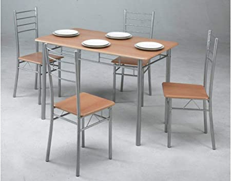 Estructura de acero cromado,Color: Haya,Peso del producto: 28 Kg,Dimensiones del producto: 70 x 120